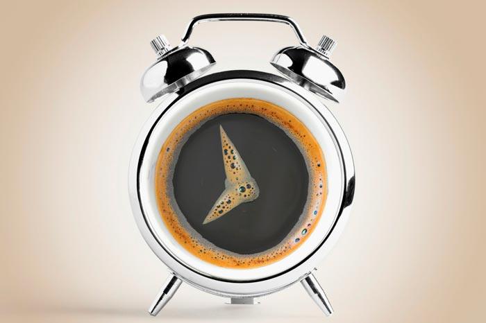 кофе и часы