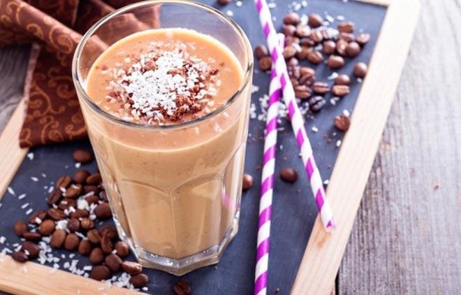 кокосово-кофейный шейк