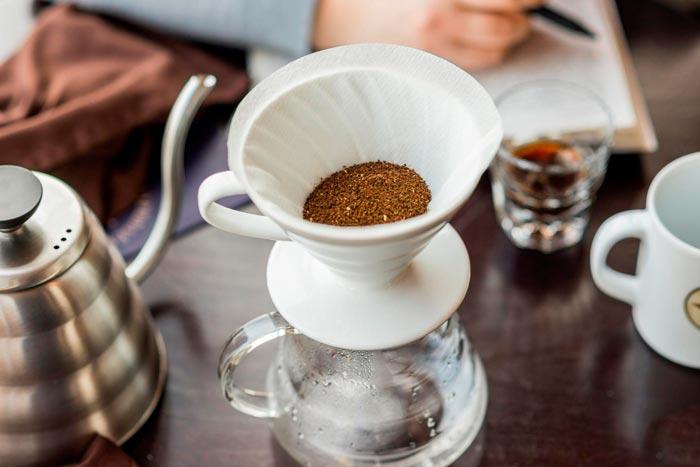 кофе в пуровере