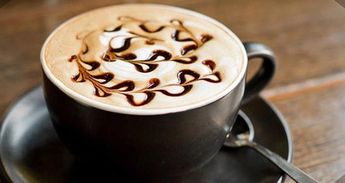 кофе с шоколадным сиропом