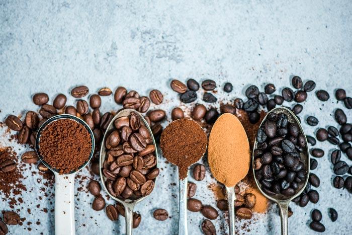 кофе в ложках