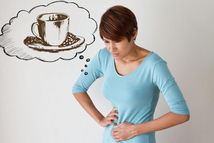 болит желудок от кофе