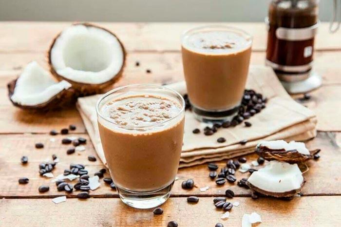 кофе с кокосовым сиропом