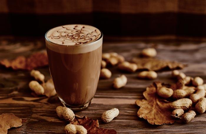 кофе с орехами