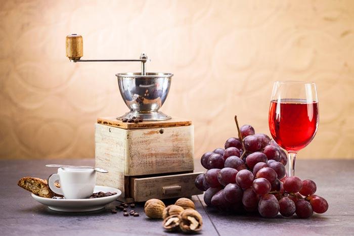 кофе и вино