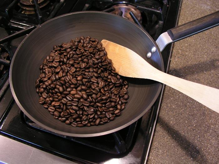 обжарка кофейных зерен