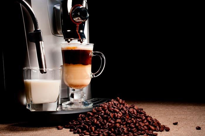 капучино в кофемашине