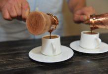 кофе с молоком в турке