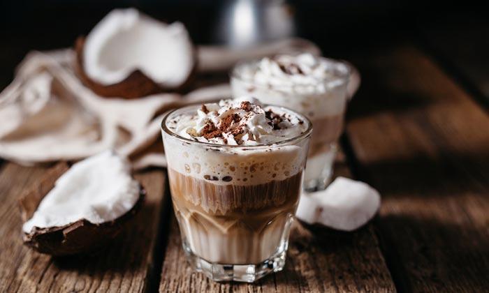 кофе и кокос