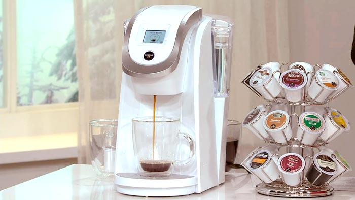 кофеварка и капсулы