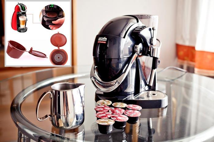 использование капсульной кофеварки