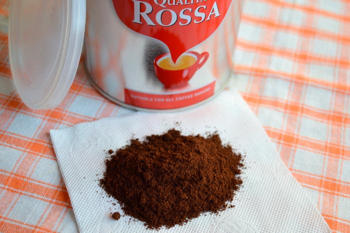 молотый кофе в растворимом