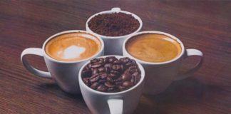 кофе в чашках